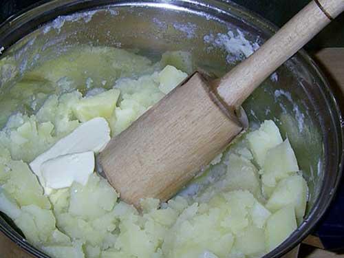 Как сделать картошку толченку с молоком