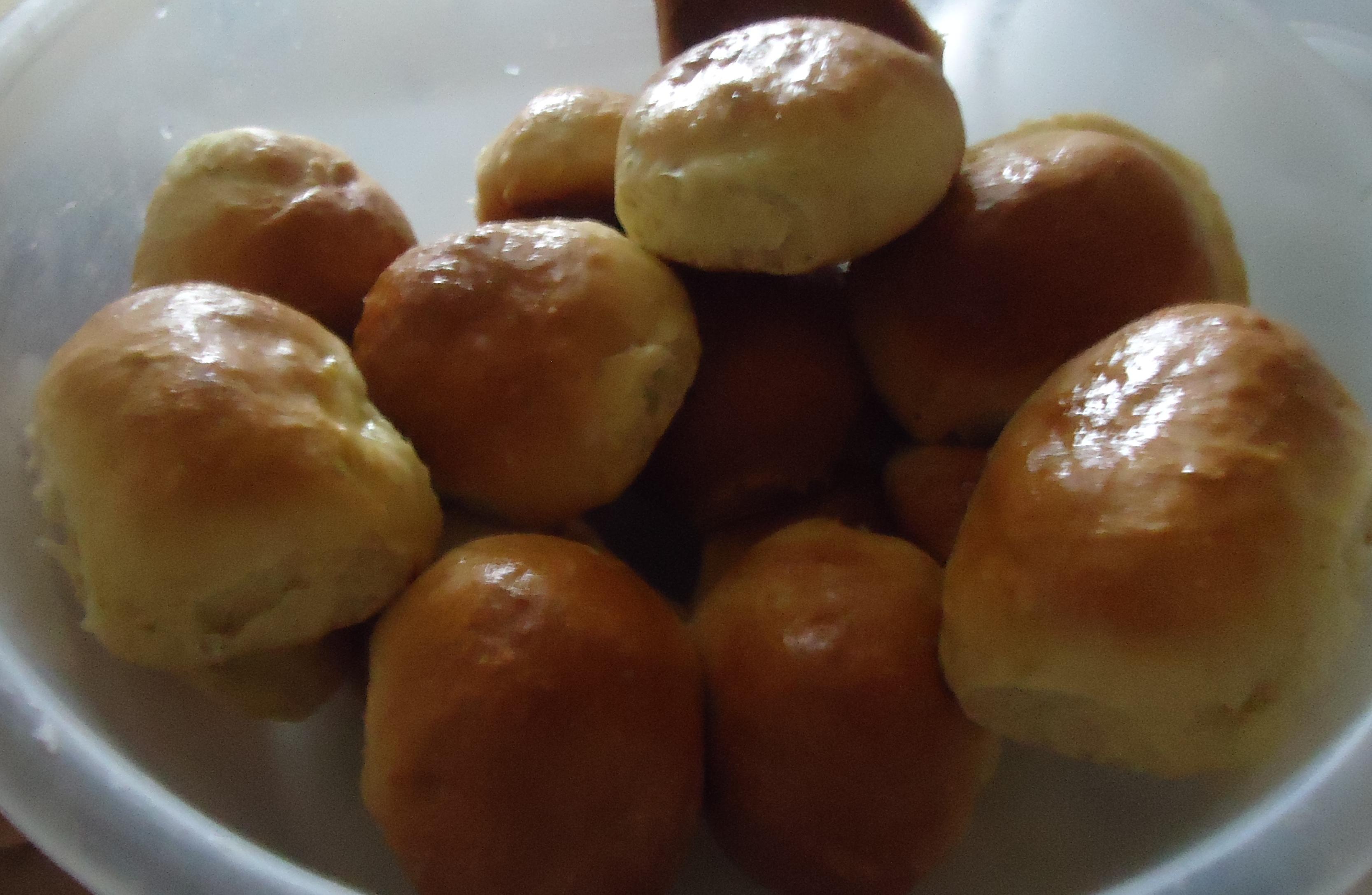 Пирожки с рисом, луком и яйцом - кулинарный рецепт 63
