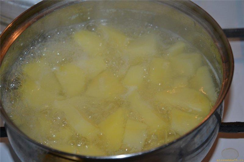 Картофель пюре как варить