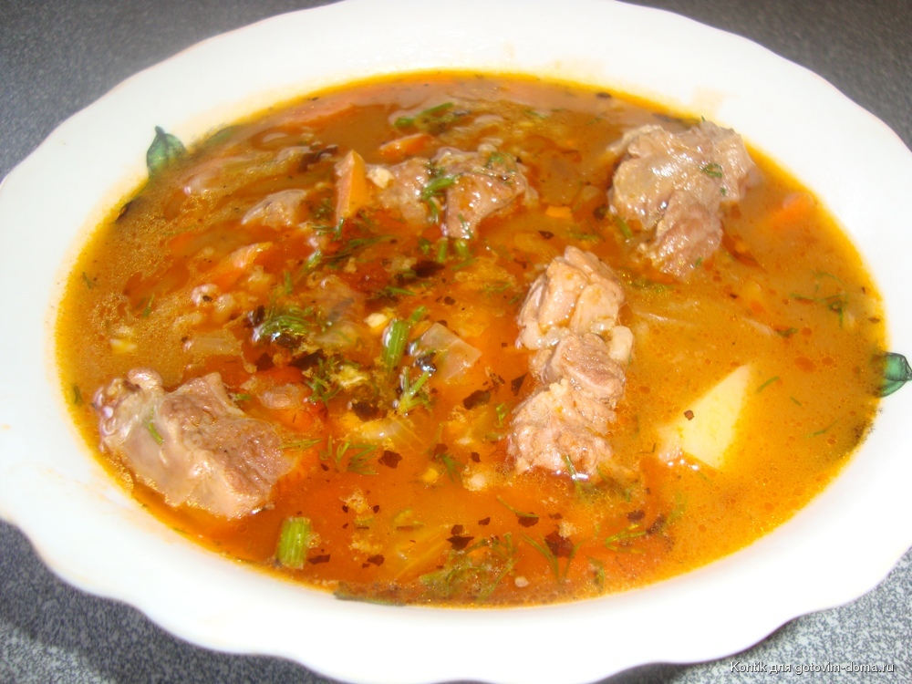 как приготовить суп с бараниной