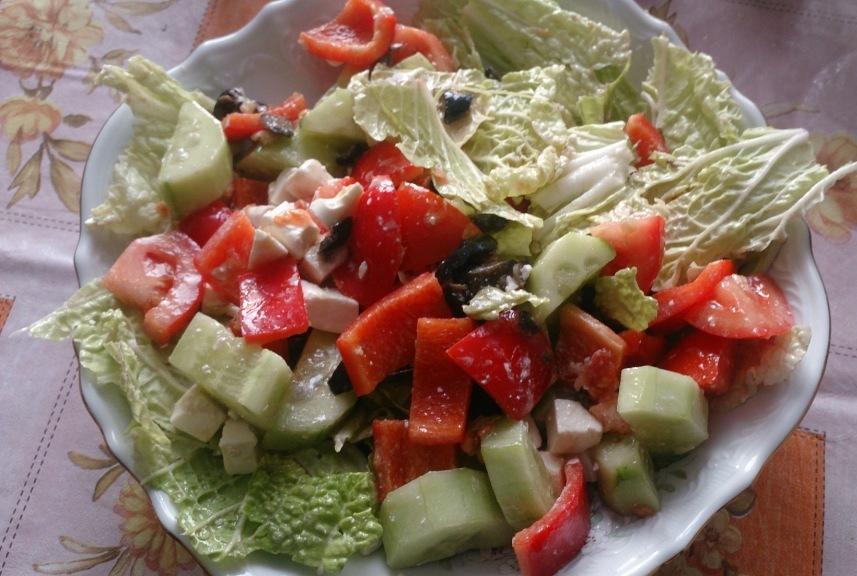 греческий салат 13