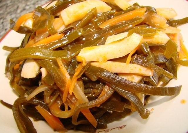 солянка из морской капусты 3