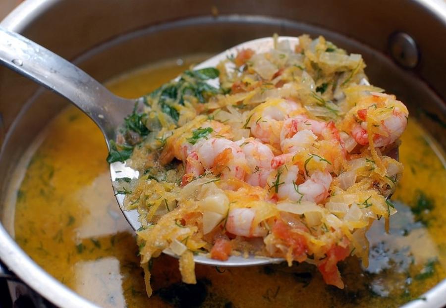 суп из морепродуктов5