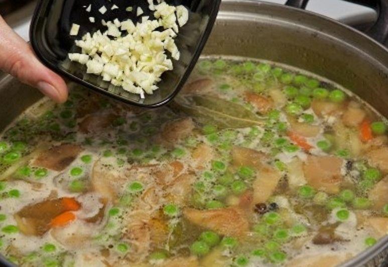 грибной суп 17