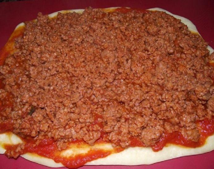 пицца с фаршем 6