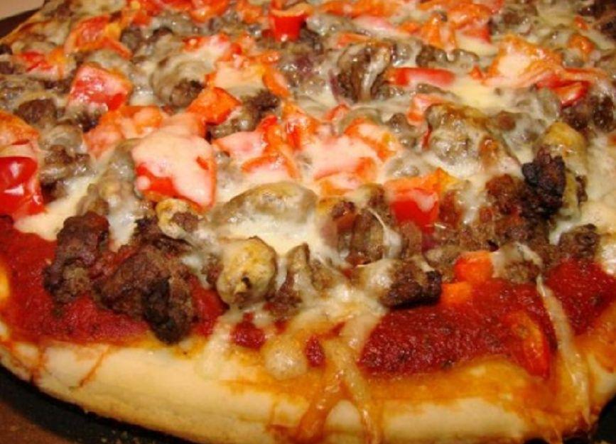 пицца с фаршем 9