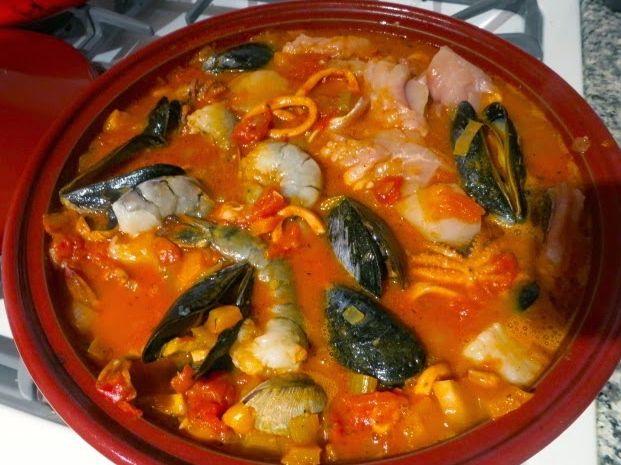 рагу из морепродуктов 10