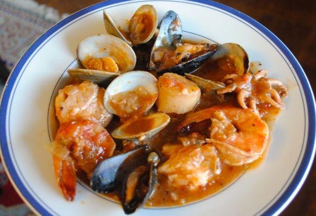 рагу из морепродуктов 12
