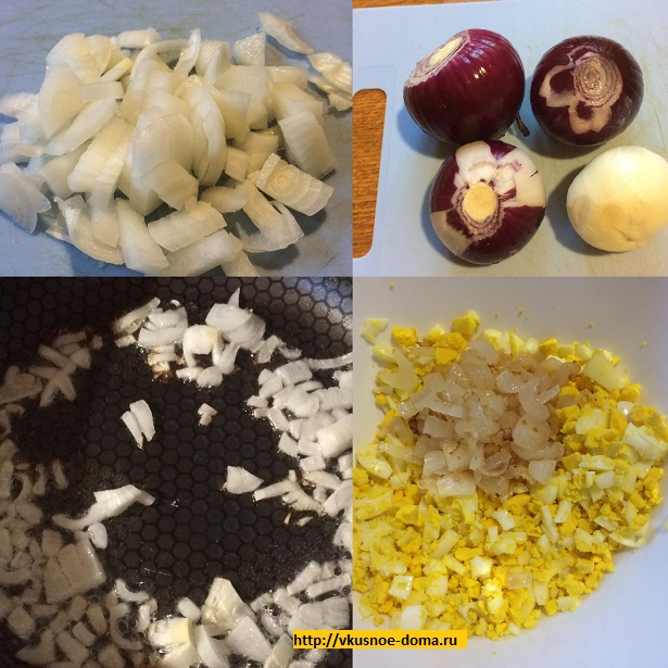 Начинка для зраз из яиц