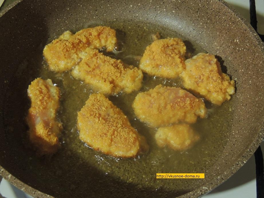 Куриные наггетсы в домашних условиях из куриного фарша 823