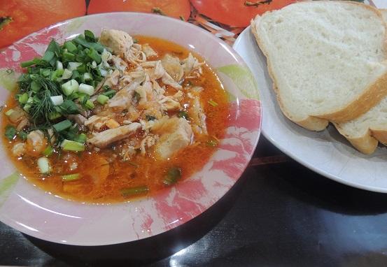 Грузинский харчо из курицы — это вам не суп пошаговый рецепт с фото