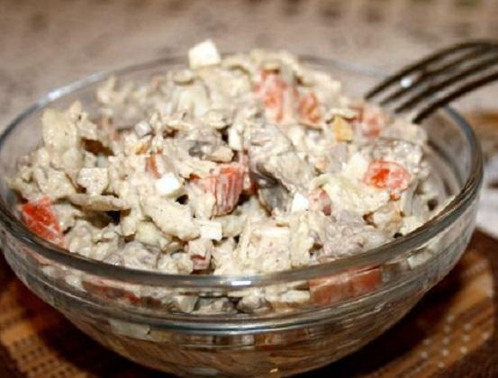 salat s pechenyu